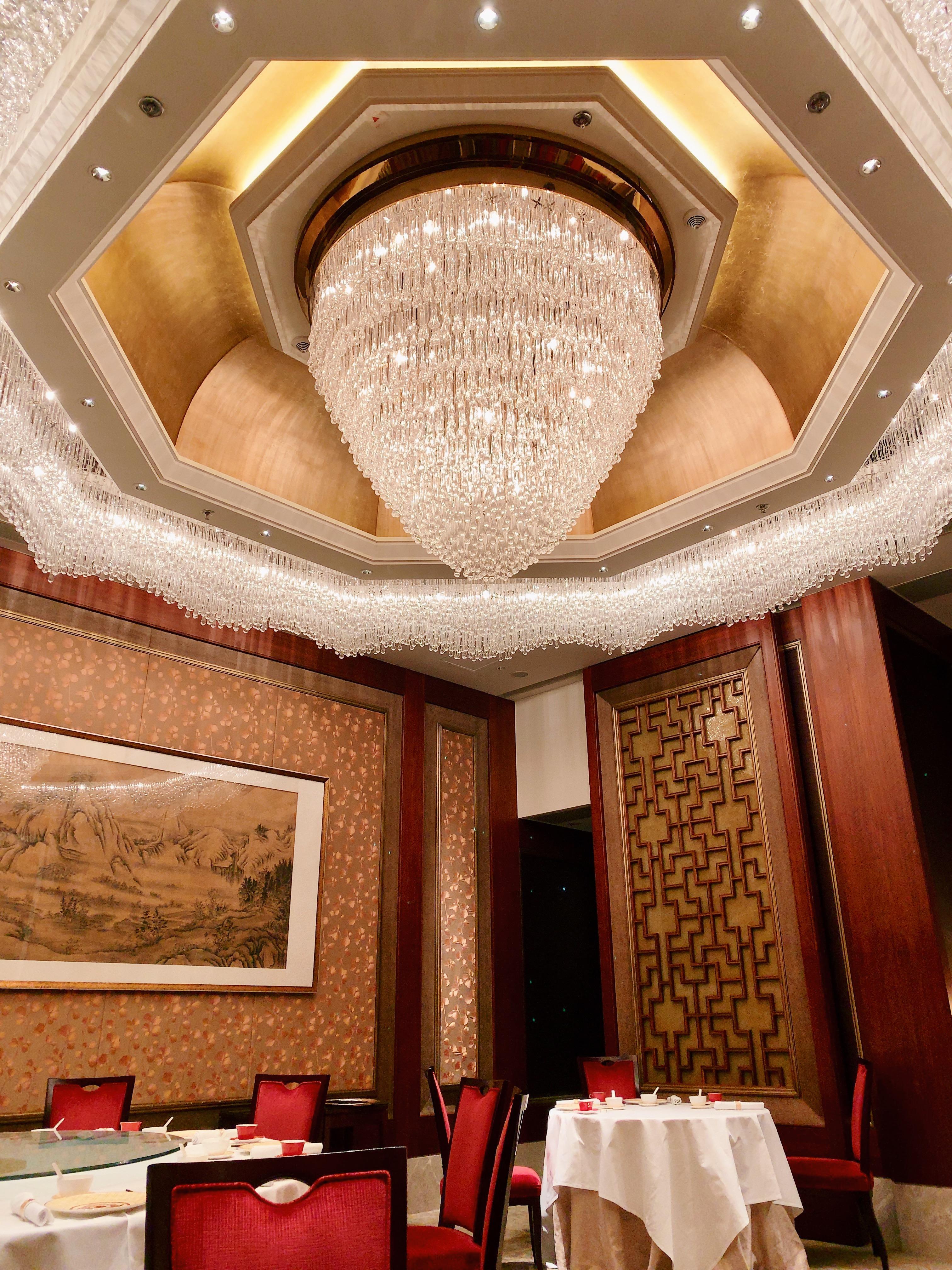 香港・香宮のゴージャスな内装