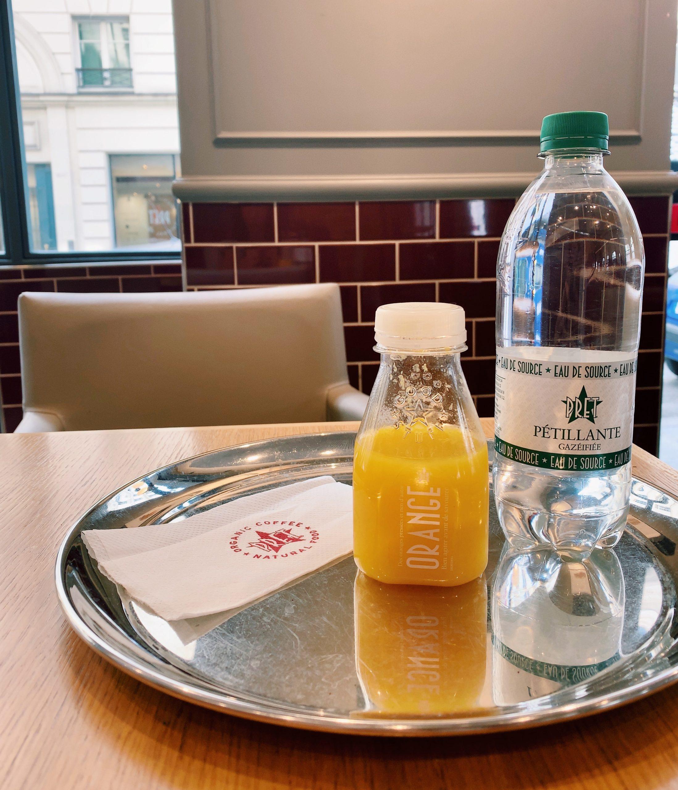 パリのプレタマンジェ/Pret A Manger