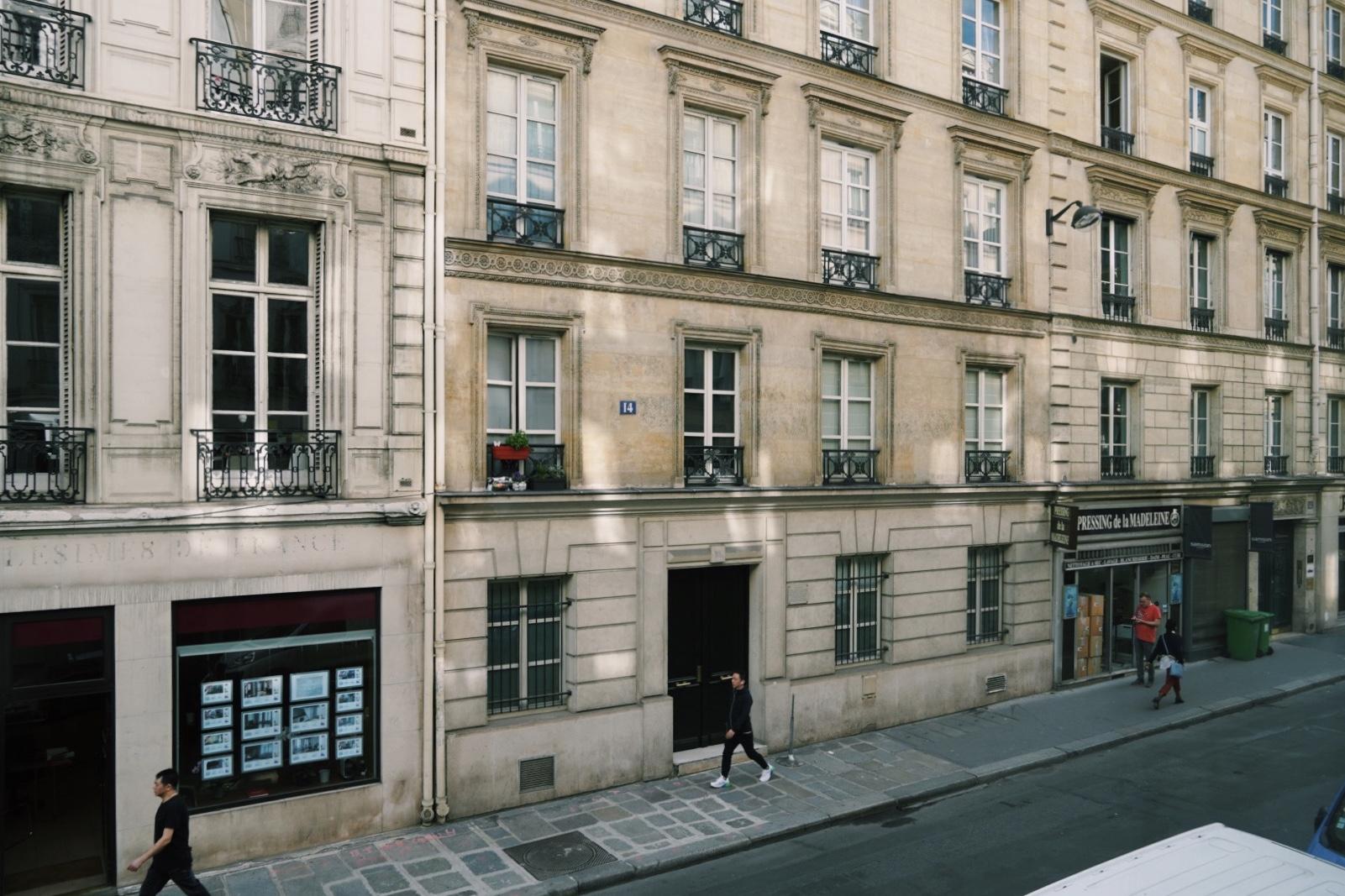 ホテル オペラ マリニー(マリグニー)窓からの景色